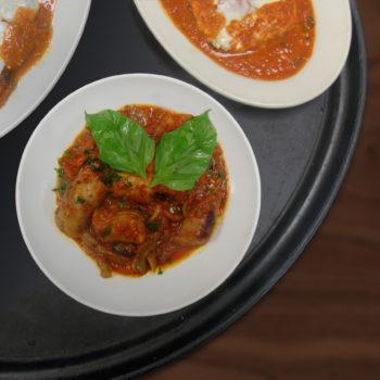sausage arrabiatta + chk parm - web
